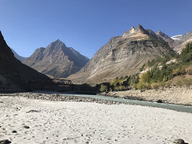 Sissu Village , Lahaul Valley