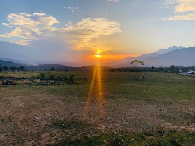 Sun set View in Bir